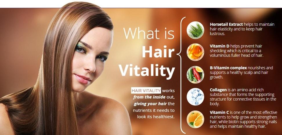 Hair Vitality ingredients