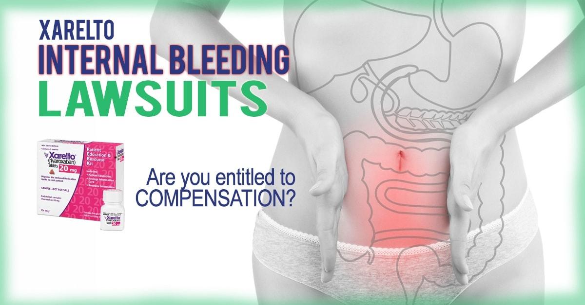 xarelto internal bleeding