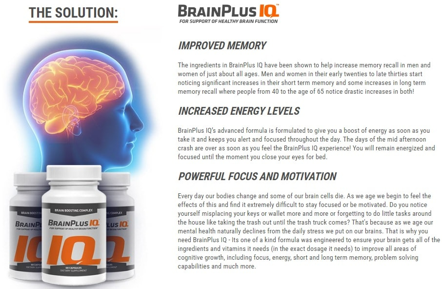 brain plus iq solution
