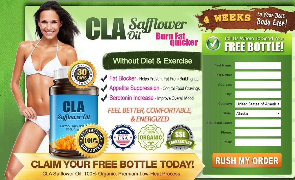 cla safflower oil