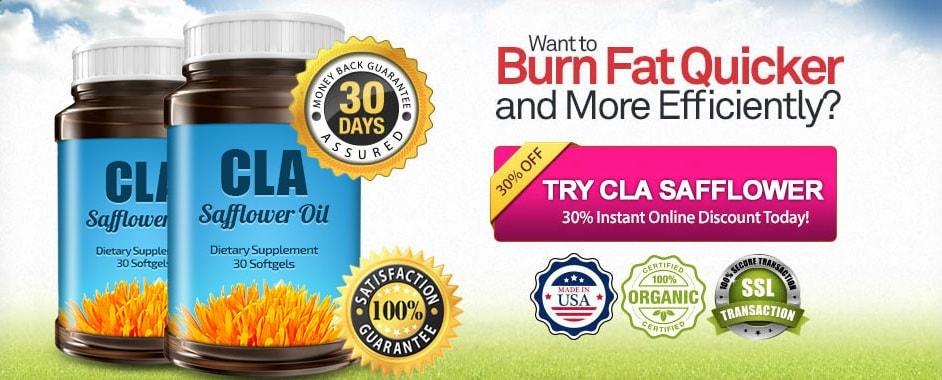 try cla safflower oil