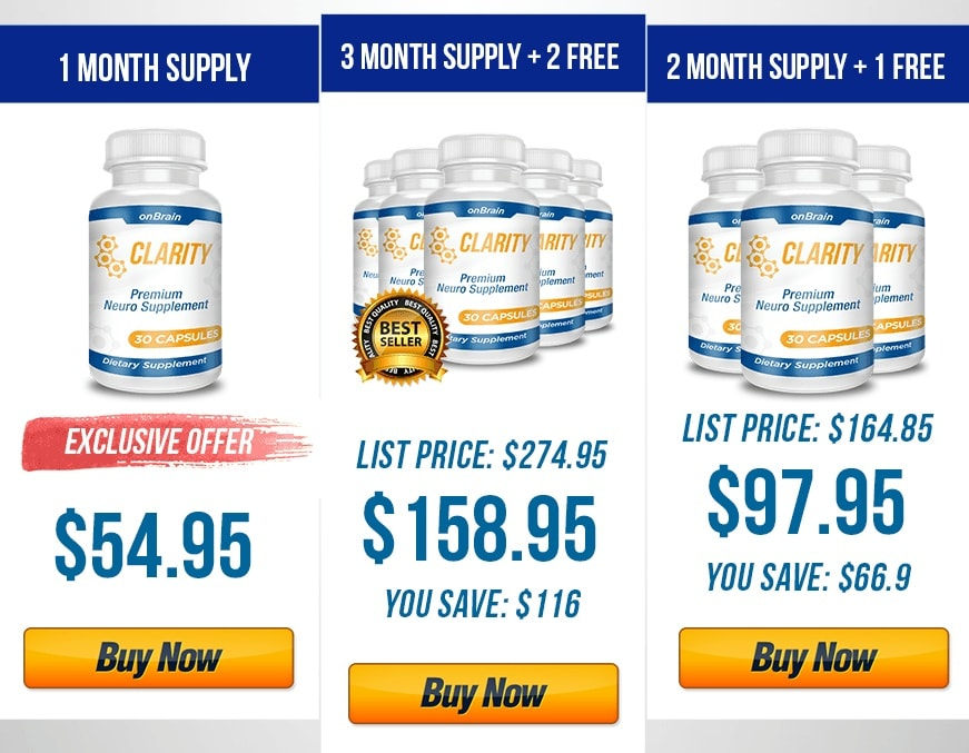 onbrain clarity offer