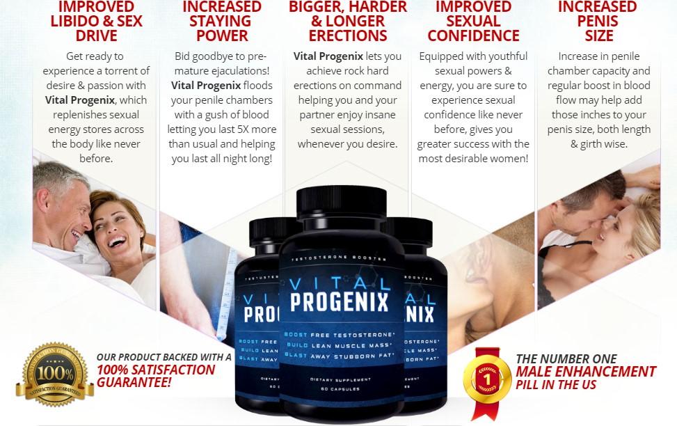Vital Progenex benefits