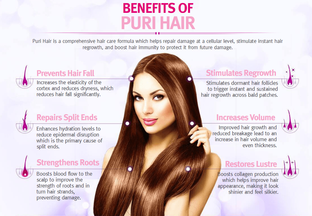 Benefits of Puri Hair
