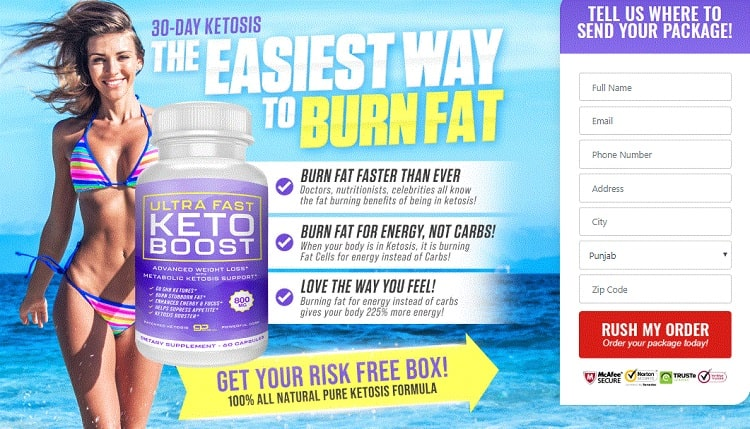 Ultra Fast Keto Boost dolly parton
