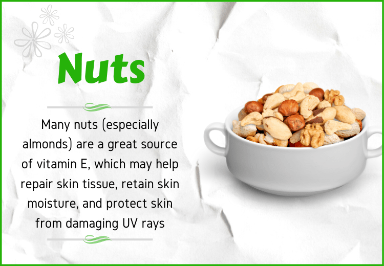 Nuts for anti aging